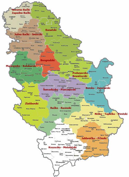 mapa srbije tutin Grad Novi Pazar i opština Tutin mapa srbije tutin